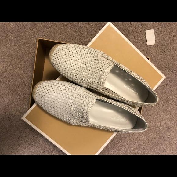 Michael Kors Collection Toni Leather Espadrilles